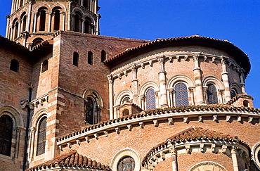 The Saint-Sernin Basilica, City of Toulouse, Haute-Garonne department, Midi Pyrenees region, France