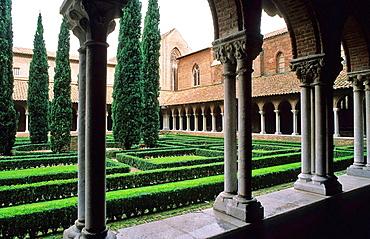 L'Ensemble Conventuel des Jacobins, jewel of languedocian Gothic art, City of Toulouse, Haute-Garonne department, Midi Pyrenees region, France