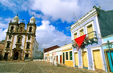 Church of Sao Pedro dos Clerigos in 'Sao Pedro' Square, Recife, Pernambuco, Brazil - 817-144359