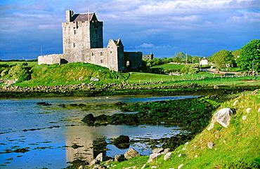 Kinvara Castle in the Burren, County Clare, Ireland