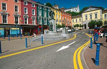 Cobh in County Cork, Ireland