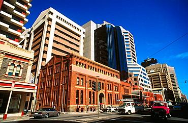 View of Adelaide, capital of South Australia, Australia