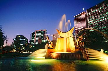 Victoria Square Fountain, Adelaide, Australia
