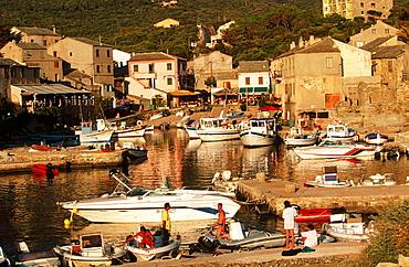 Centuri in Cape Corse, Corsica Island, France