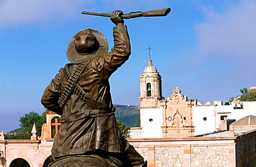 Francisco Villa statue, Zacatecas, Mexico