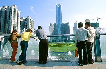 Citic Plaza, Business area, Guangzhou, China