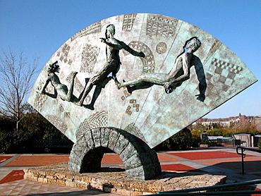 Quilt of Origins, Centennial Olympic Park, Atlanta, Georgia, USA