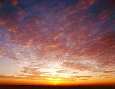 Sunset clouds, Poland