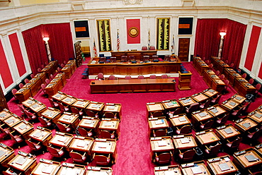 House of Represenatives at the State Capitol Building at Charleston West Virginia WV