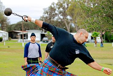 Zephyrhills Celtic Festival and Highland Games, Florida, USA