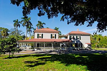 Edison and Ford Winter Estates, Seminole Lodge, Fort Myers, Florida, USA