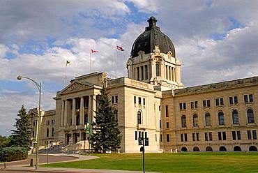 Provincial Capital Legislative Building Regina Saskatchewan Canada Queen City designed by Edward and W, S, Maxwell Beaux Art Style
