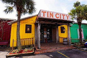 Naples Florida Tin City Shopping district for tourists
