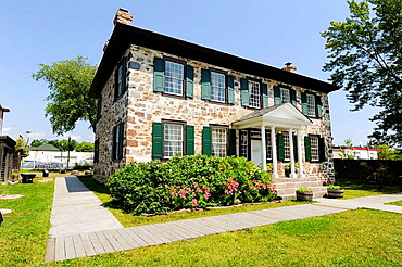 Ermatinger Old Stone House Sault Ste Marie Ontario Canada