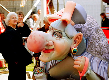 'Ninot' (figure to be burnt during 'fallas' festival), Valencia, Spain