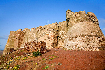 Santa Barbara of Guanapay Castle at Teguise, Lanzarote, Canary Islands, Spain