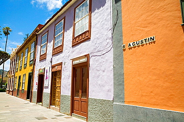 Typical architecture, San Cristobal de la Laguna, Tenerife, Canary Islands, Spain