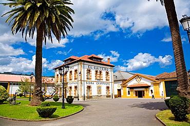 El Gaitero, cider celler, Villaviciosa, Asturias, Spain
