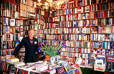 Shakespeare & Co, book store, Paris, France