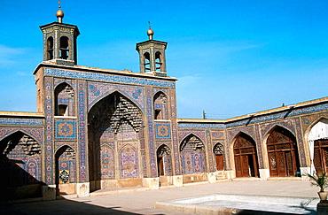 Nassir-Ol-Molk mosque (1887), Shiraz, Iran.