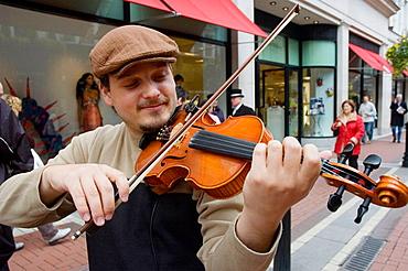 Violin player Dublin, Ireland