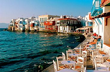 Alefkandra quarter in Mikonos, Greece