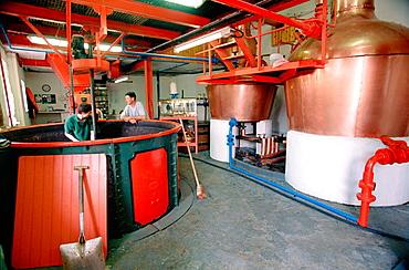 Edradour whisky distillery, Pitlochry, Perthshire, Scotland, UK