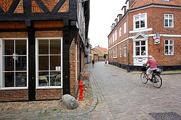 Historic center, Ribe, Denmark