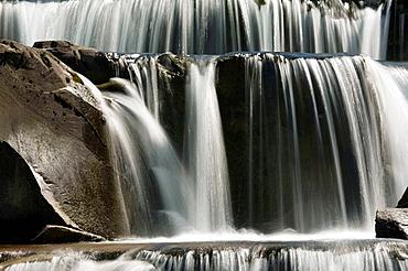 Gradas de Soaso, Rio Arazas, Parque Nacional de Ordesa y Monte Perdido, Pirineo Aragones, Huesca, Espana