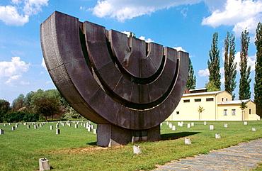 Memorial crematorium, Terezin, Czech Republic