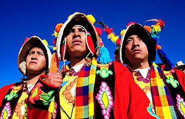 Typical costumes, Potosi, Bolivia