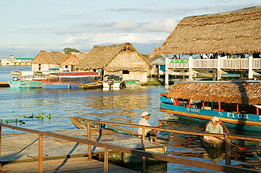 Everyday life in rio Ytaya, Nanay, Amazon, Iquitos, Peru