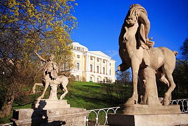 Bridge of Centaurs (1795-1799), Architect Charles Cameron, Pavlovsk, near St.Petersburg, Russia
