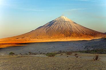 Ol Doinyo Lengai volcano, Lake Natron, Tanzania
