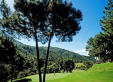 Montemayor golf course, Estepona, Costa del Sol, Malaga province, Andalusia, Spain