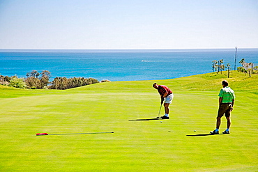 Dona Julia Golf club, Casares, Malaga province, Andalucia, Spain.