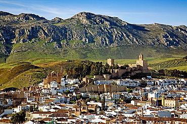 Antequera and El Torcal mountain range, Malaga province, Andalucia, Spain
