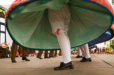 Puertollano 'jota' dance dating from the 19th century, Saffron Rose Festival held each year in the last week of October, Consuegra, Toledo province, Castilla-La Mancha, Spain
