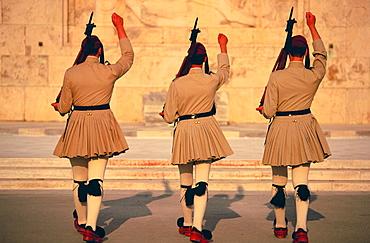 Evzoni Guard, Syntagma Square, Athens, Greece