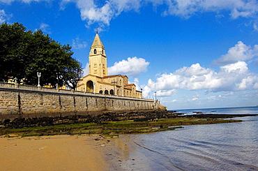 San Pedro Church, Gijon, Asturias, Spain