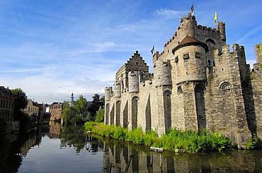 Gravensteen (Castle of the Counts), Ghent, Flanders, Belgium