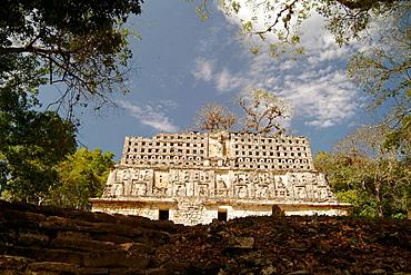 Yaxchilan archaeological site, Usumacinta river, Lacandon Forest, Chiapas, Mexico.