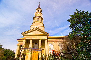 St, Philip's Episcopal Church in the historic district of Charleston, South Carolina