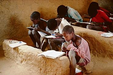 Scrubland school, Dogon Country, Mali