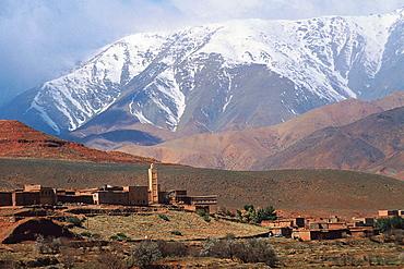 High Atlas landscape, Morocco.