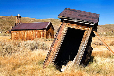 Ghost town, Bodie State Historic Park, Bodie, California, United States