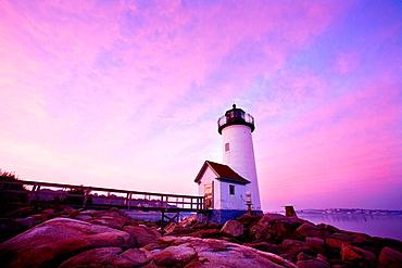 Annisquam lighthouse, Gloucester, Massachusetts, USA