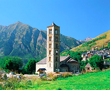 Sant Climent de Taull church, Boi valley, Pyrenees Mountains, Lleida province, Spain