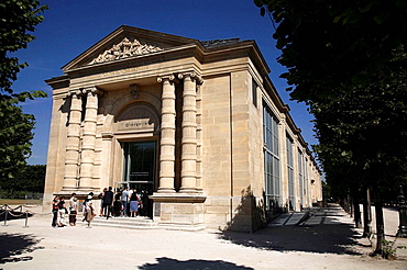 Musee de IOrangerie in Jardin des Tuileries, Paris, France