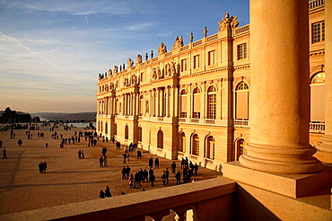 Chateau of Versailles and garden, Paris, France